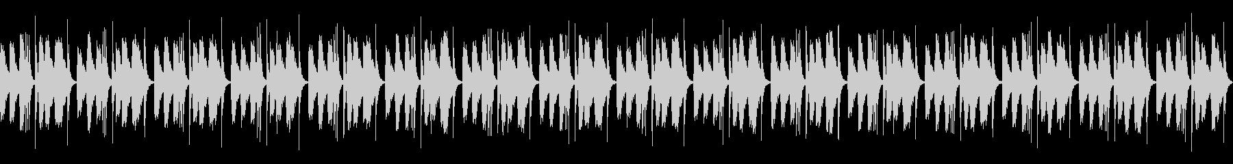 [和太鼓二重奏]盆踊りの大太鼓01の未再生の波形