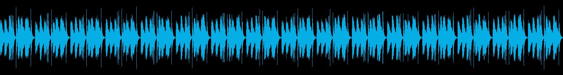 [和太鼓二重奏]盆踊りの大太鼓01の再生済みの波形