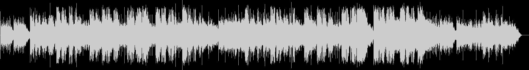 英語洋楽: 切ない傷心バラード&ピアノの未再生の波形