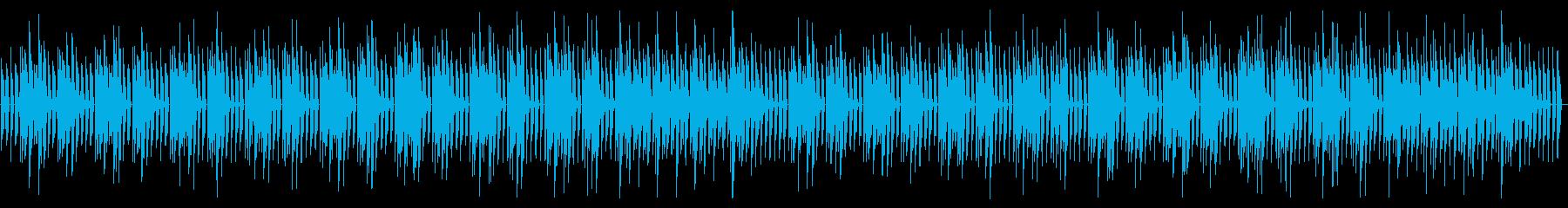 YouTube アコギソロ・シンプルの再生済みの波形