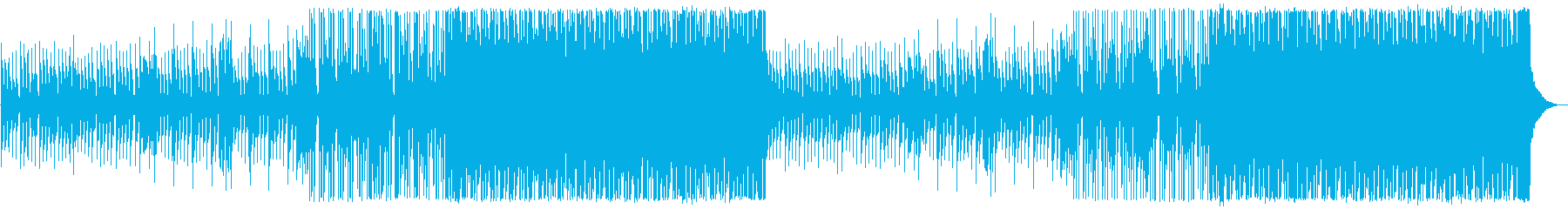 疾走感/情緒的/ハウスロック_474_1の再生済みの波形