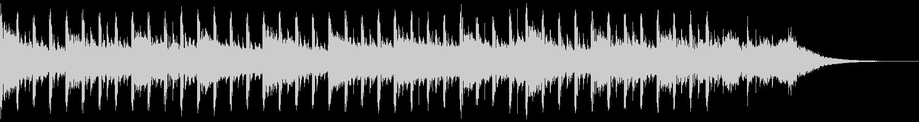 説明者の背景(30秒)の未再生の波形