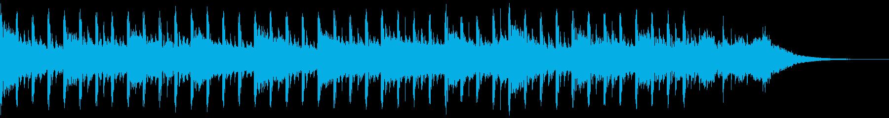 説明者の背景(30秒)の再生済みの波形