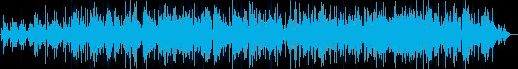 切ない雰囲気のガットギターフュージョンの再生済みの波形