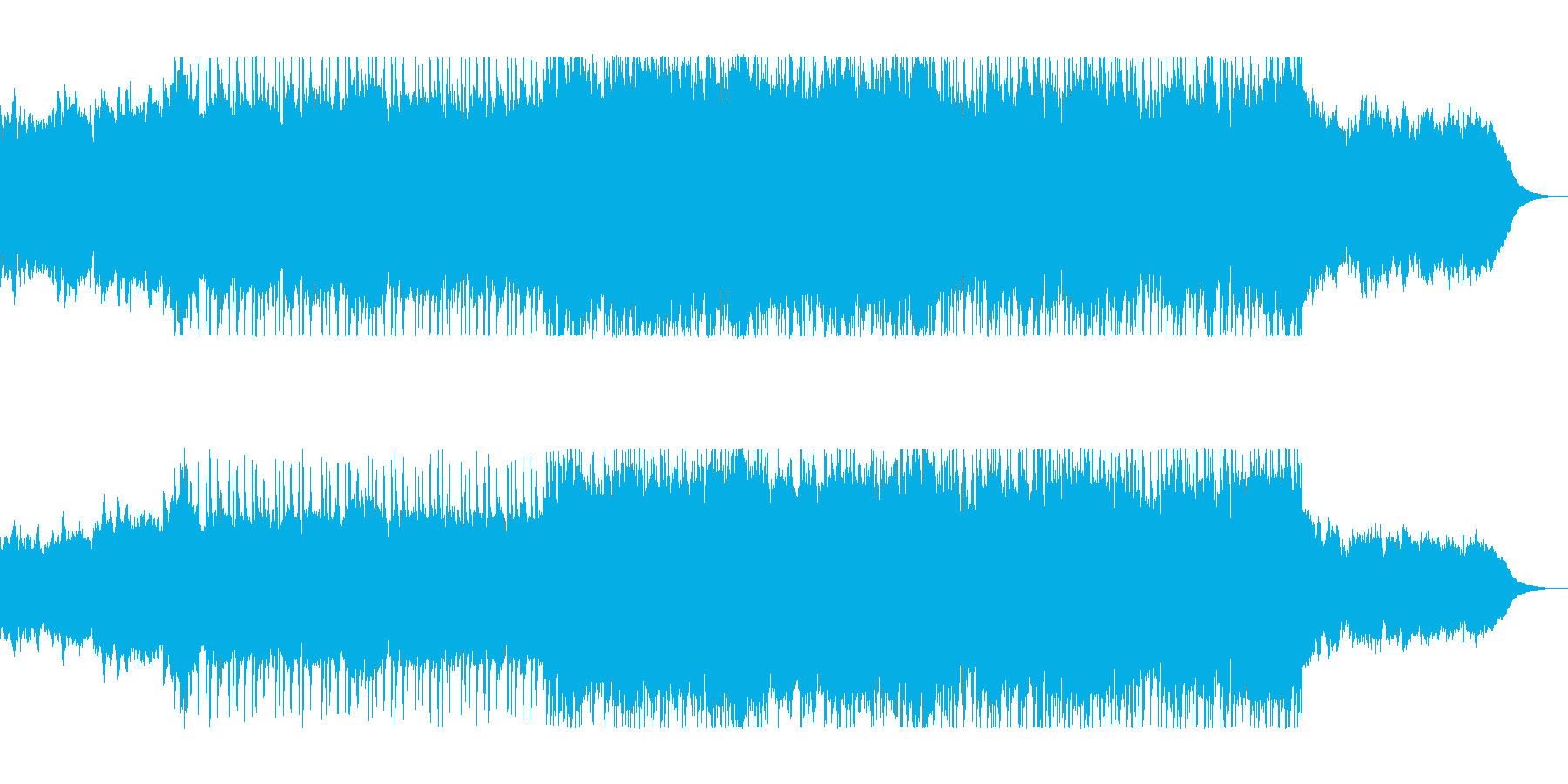 ゆったり爽やかギタードラムサウンドの再生済みの波形