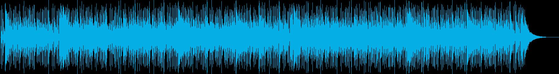 爽やかで上品なアコギポップの再生済みの波形