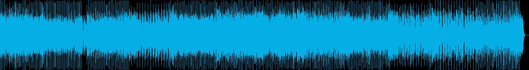 これから何かはじまりそうな軽快なテクノの再生済みの波形