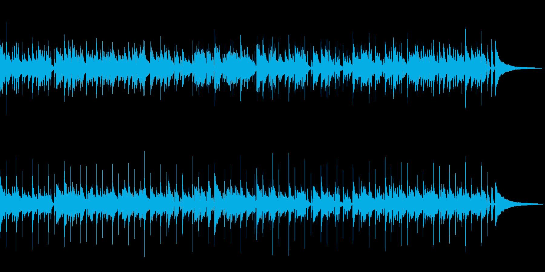 小さくてかわいい雰囲気のボサノバの再生済みの波形