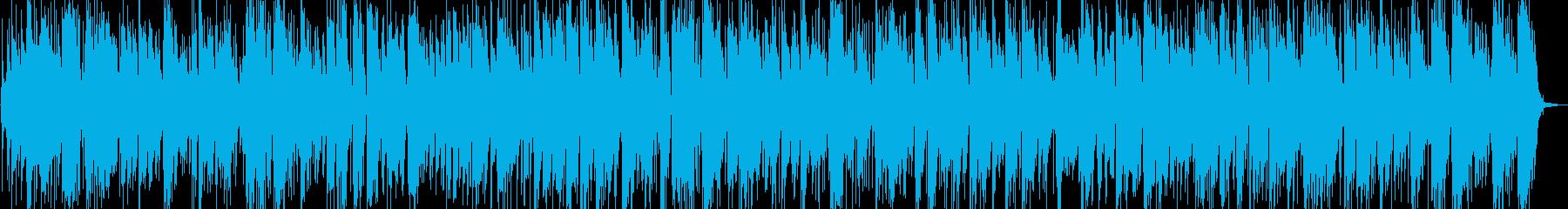 おしゃれかっこいいサックスジャズバラードの再生済みの波形
