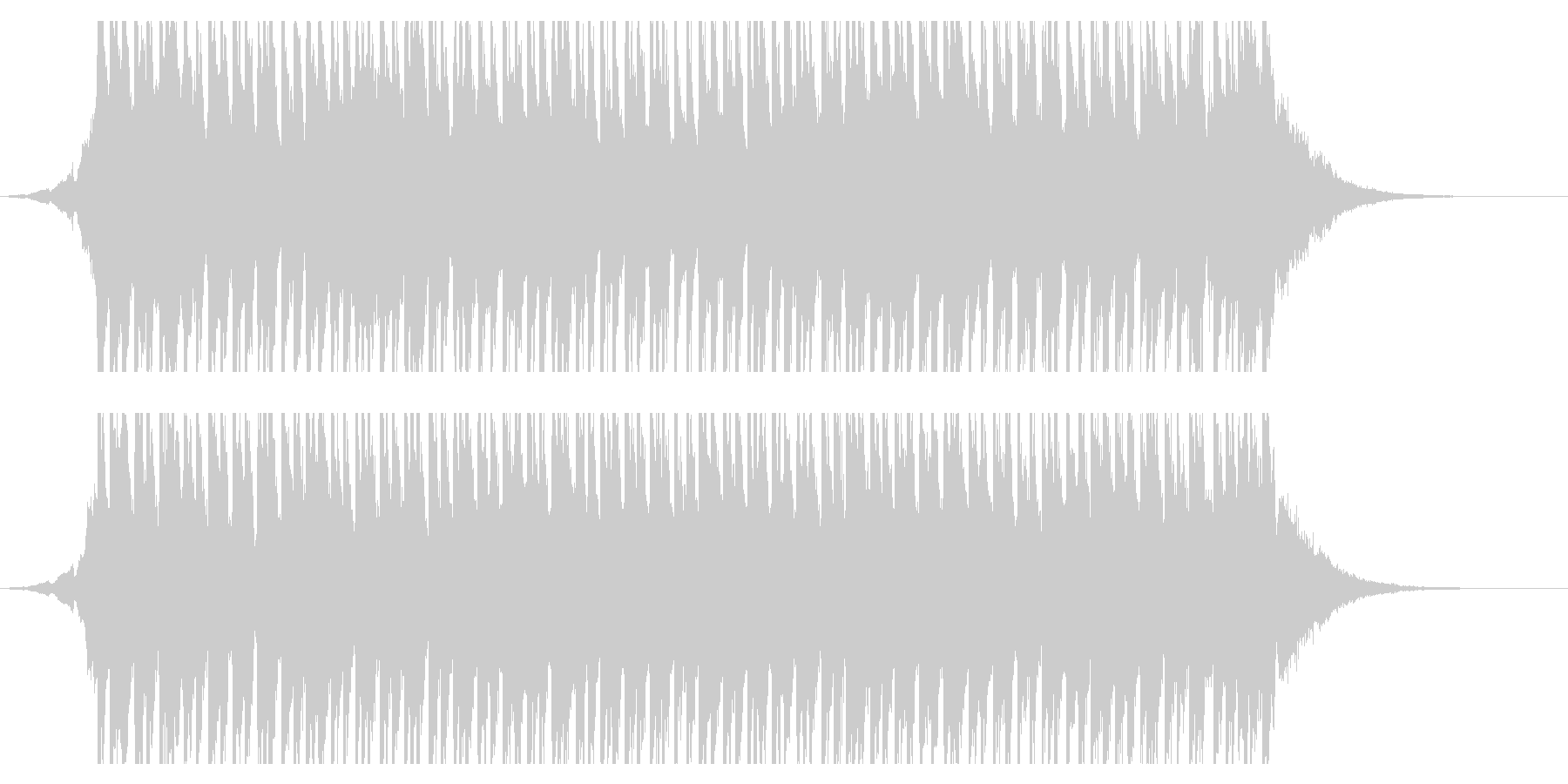 ハッピーサニーデイズ(30秒)の未再生の波形