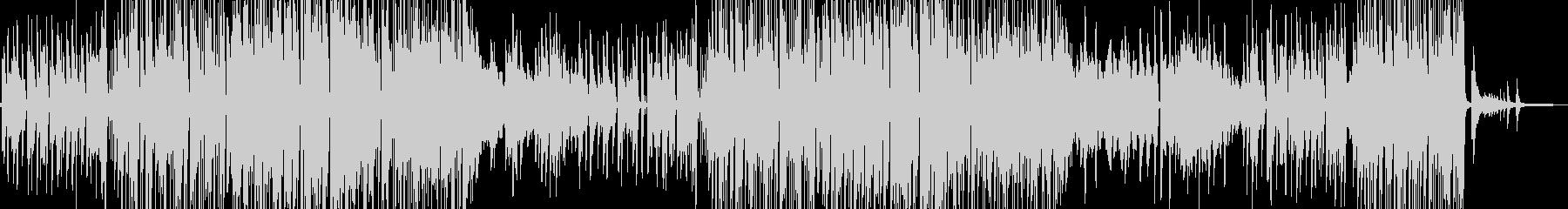 シャイで乙女チック・軽快なジャズ 短尺の未再生の波形