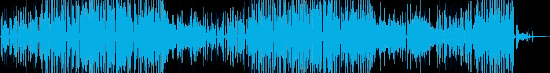 シャイで乙女チック・軽快なジャズ 短尺の再生済みの波形
