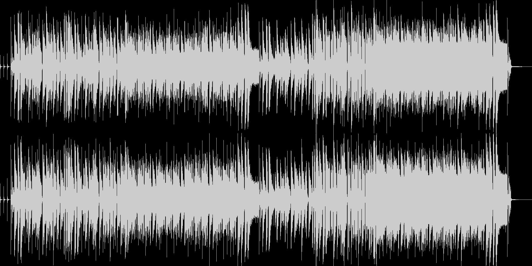ジャジーなピアノインストの未再生の波形
