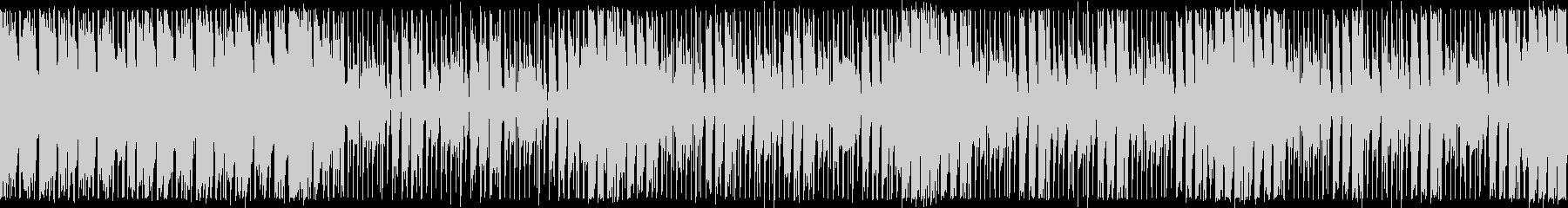 ダンスエクササイズBPM120:ループ版の未再生の波形