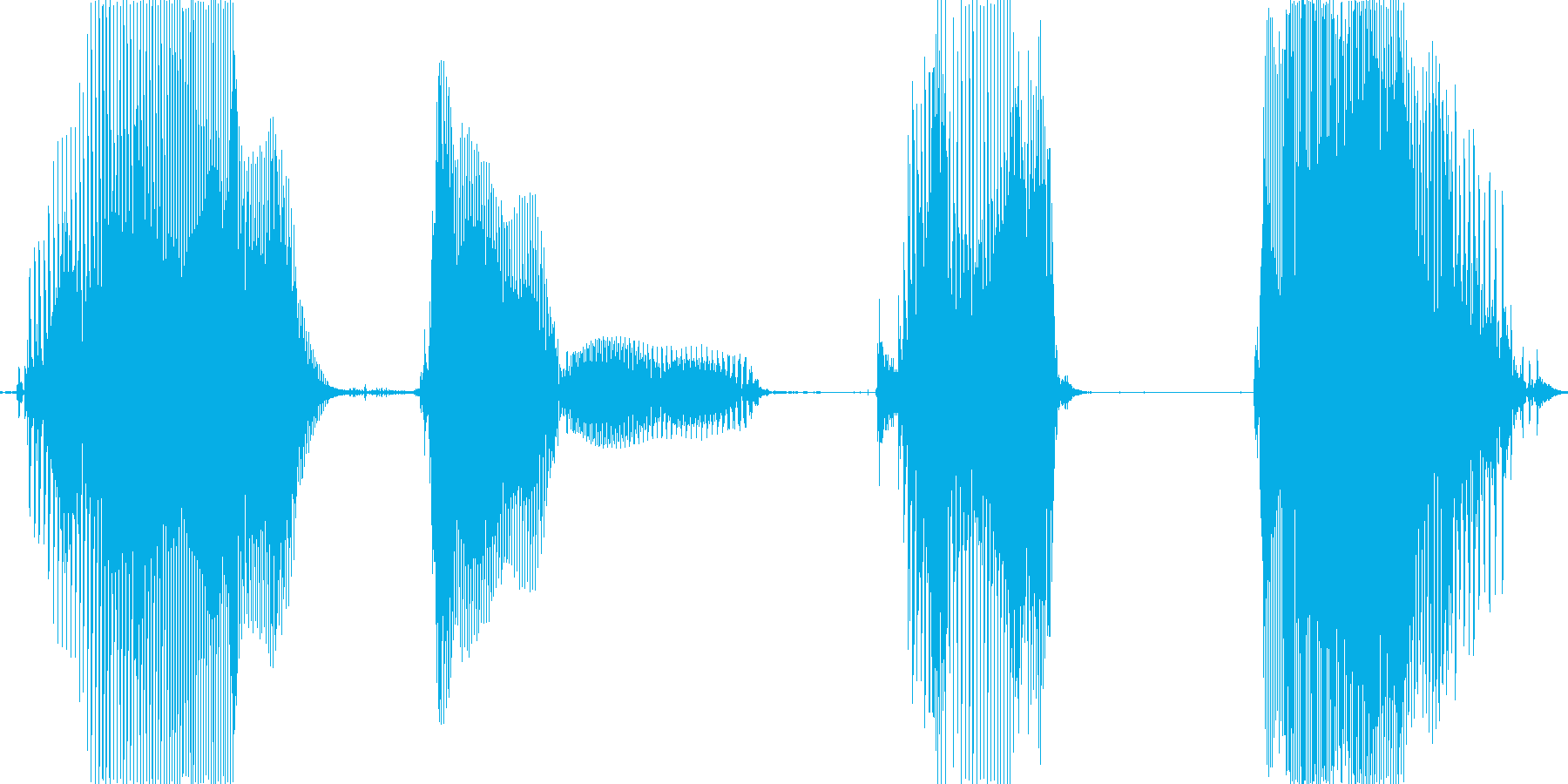 アイテムゲット!の再生済みの波形