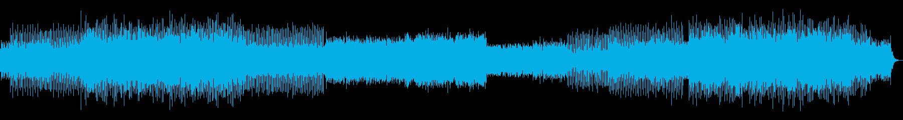 ★リズム・ビートに溢れた迫力のあるBGMの再生済みの波形