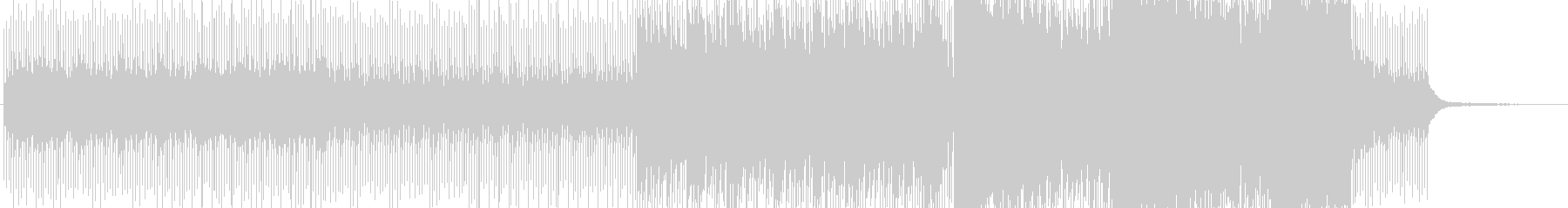シンキングタイム、ルール説明時のBGMの未再生の波形