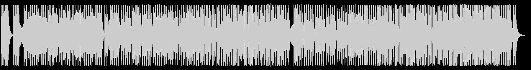 荒々しい和太鼓アンサンブルの未再生の波形