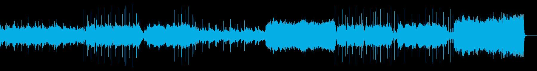 爽やかなイメージのバラードポップスの再生済みの波形