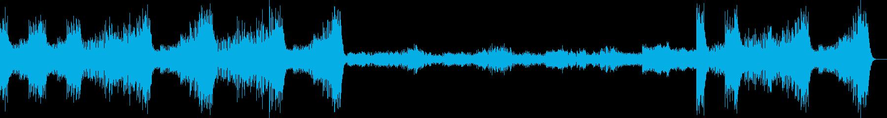 クープランの墓より第四楽章リゴドンの再生済みの波形