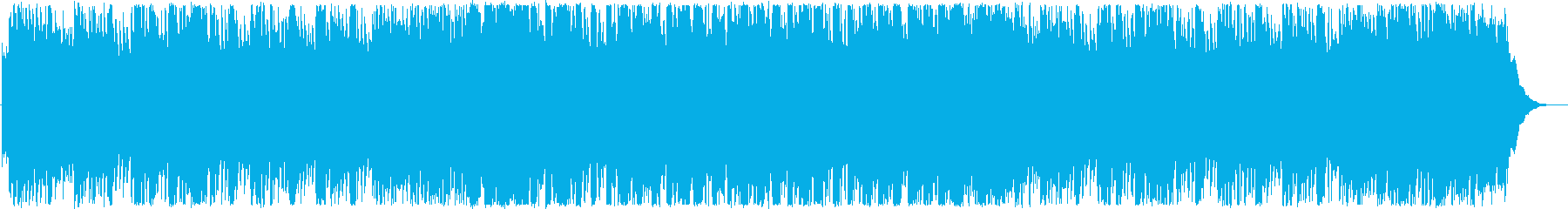 オープニング・おしゃれなEDMの再生済みの波形