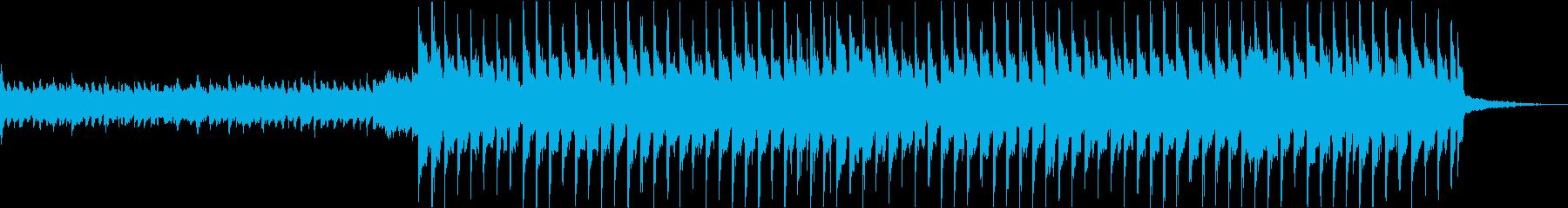 爽やかなギターアルペジオのUK風ポップスの再生済みの波形