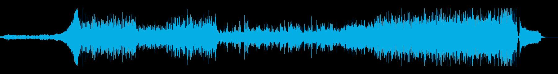 ミディアムテンポの爽やかなインストポップの再生済みの波形