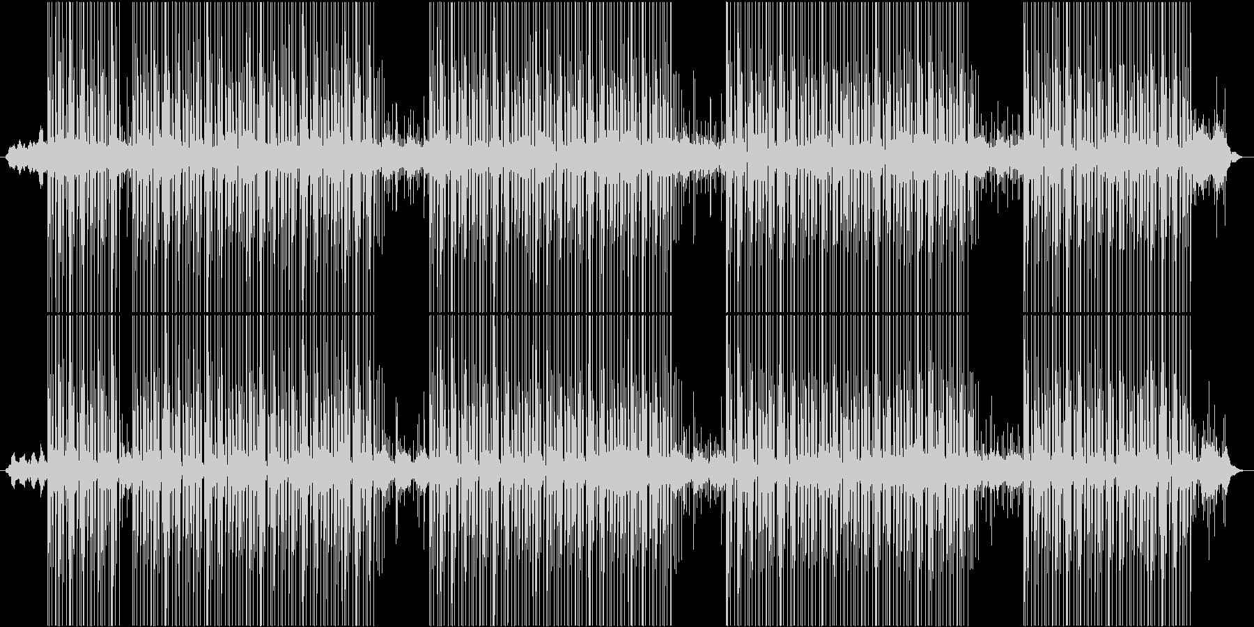 怪しい雰囲気のBGMの未再生の波形
