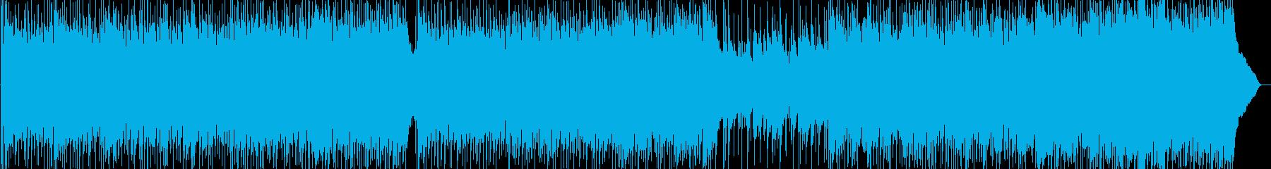昼下がりをイメージしたリラックスポップスの再生済みの波形