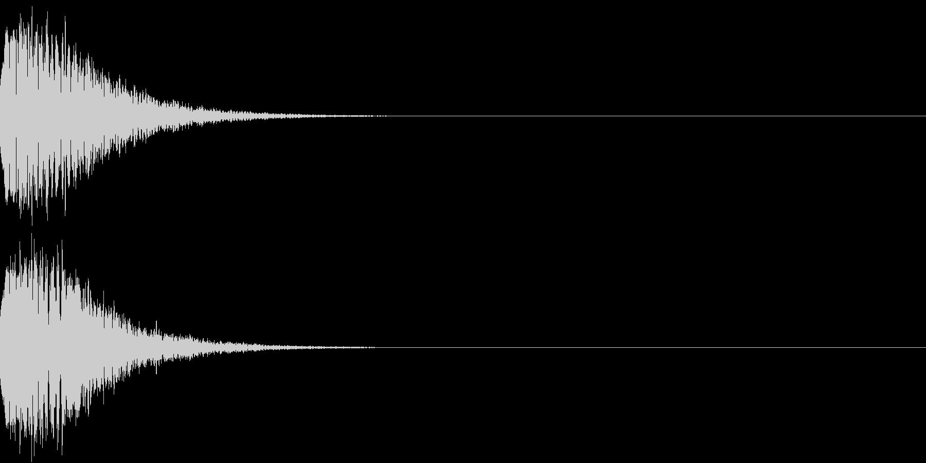 光る キュイーン ピカーン キラン 08の未再生の波形