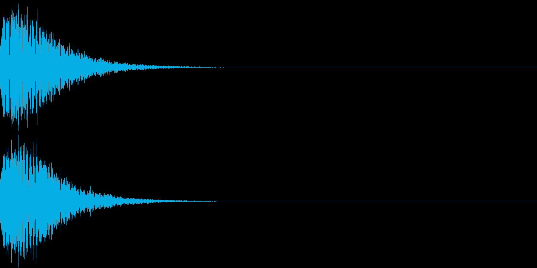 光る キュイーン ピカーン キラン 08の再生済みの波形