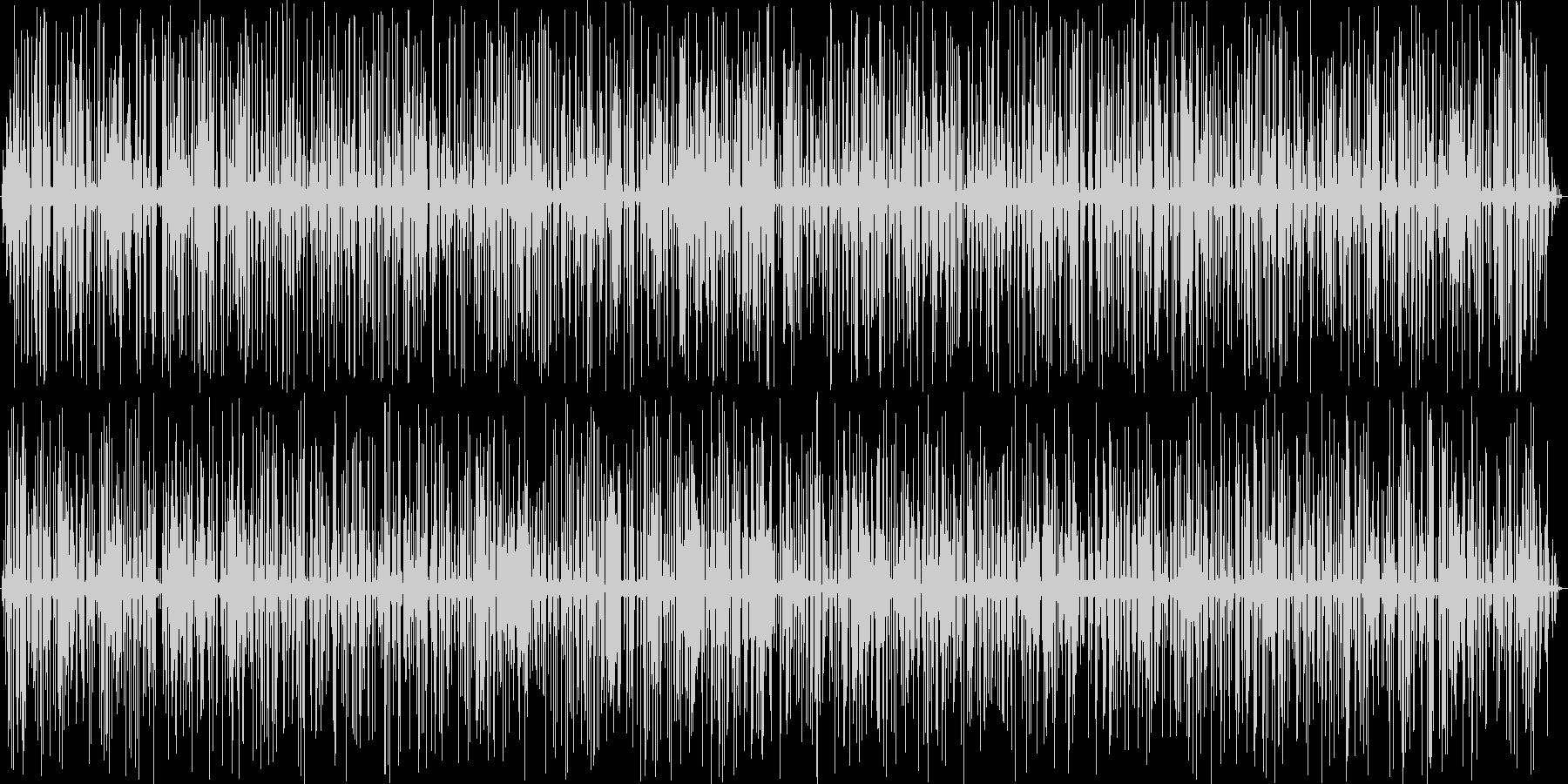 5分間のやさしい雨音・ポツポツの未再生の波形