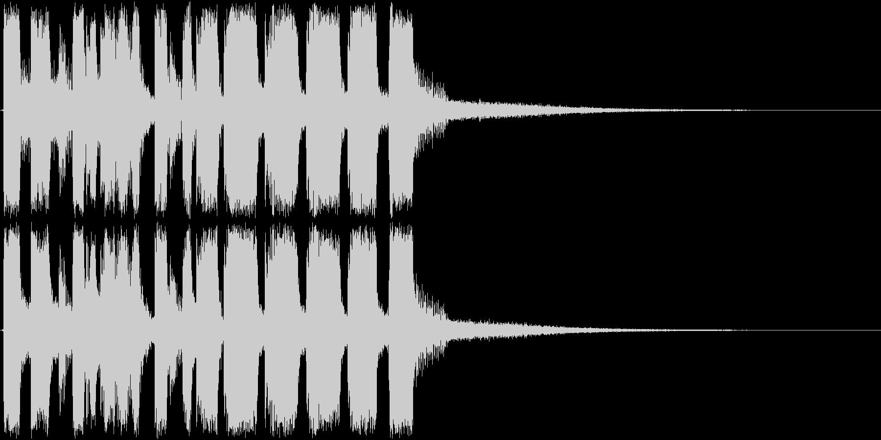アイキャッチ・次回予告・トランペットの未再生の波形