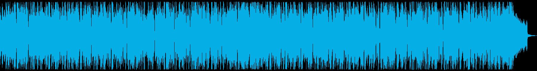 夏をイメージした明るいボサノヴァ風BGMの再生済みの波形