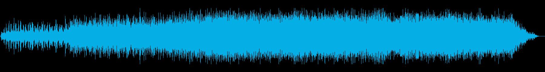 這いずり回るようなホラーアンビエントの再生済みの波形