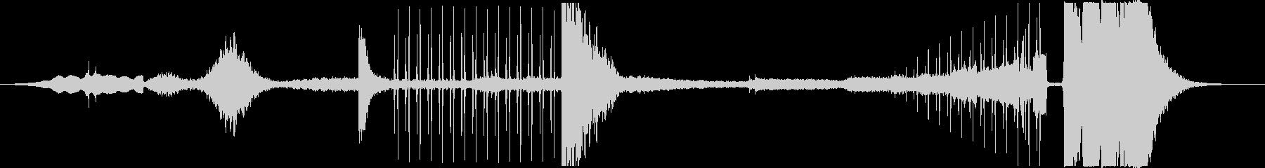 アンビエントミュージック 神経質 ...の未再生の波形