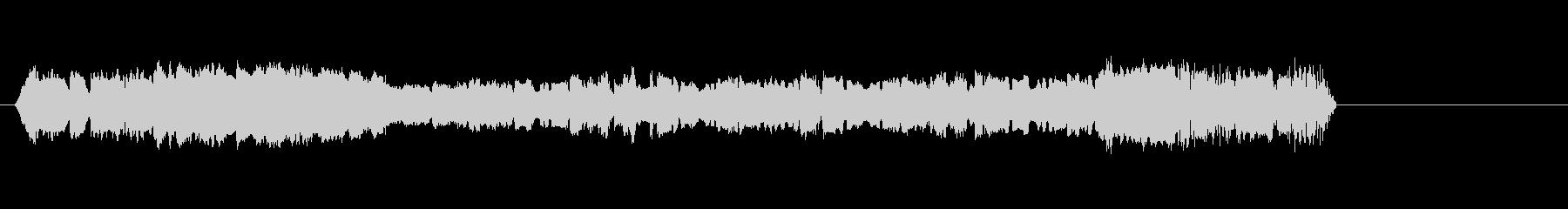 シンセの変更と歪みに関する高速シー...の未再生の波形