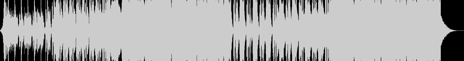 パワーポップロックの背景の未再生の波形