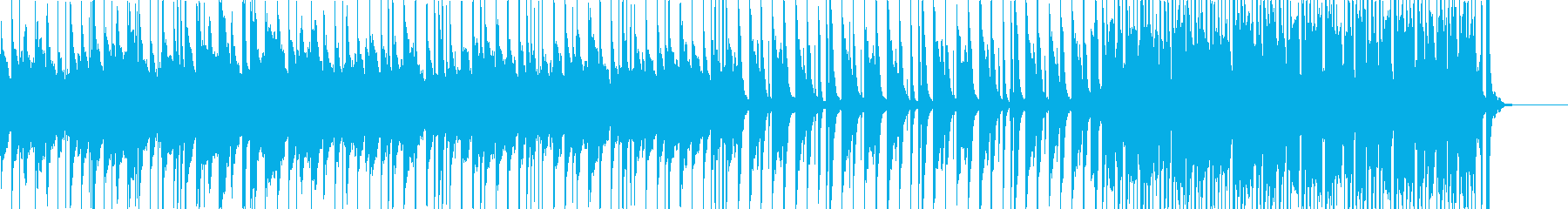 楽しくて無邪気な映像用音楽の再生済みの波形
