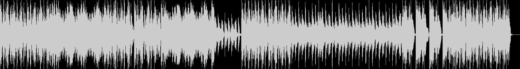 ショートブレイクジャズロックの未再生の波形