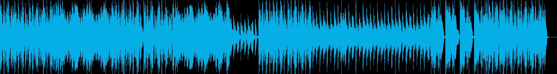 ショートブレイクジャズロックの再生済みの波形