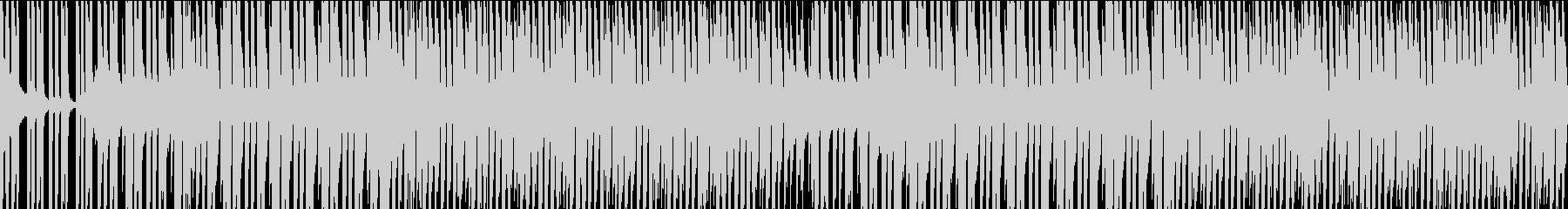 イケイケな夏のBGM(ループ)の未再生の波形