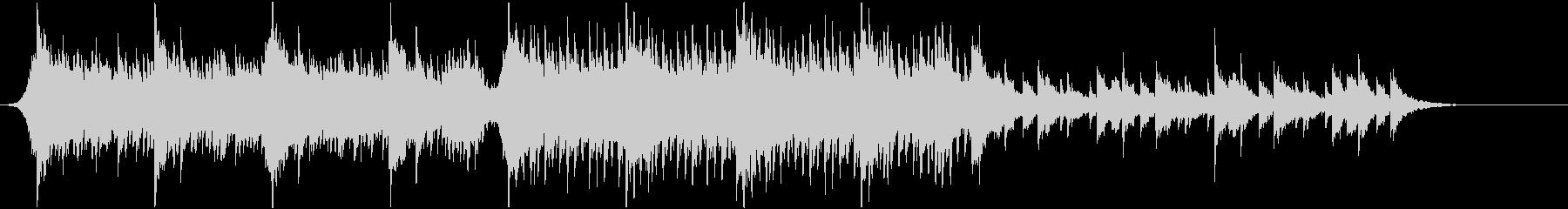 アコースティック系 切ない四つ打ちEDMの未再生の波形