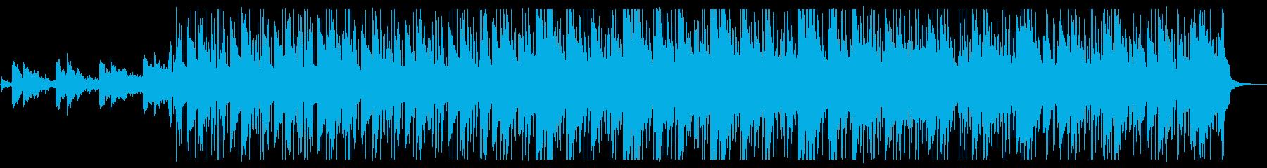 ピアノが美しい夜のスムースジャズの再生済みの波形
