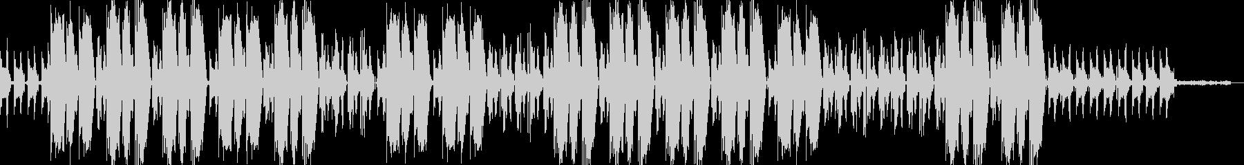ミステリアスなHIPHOP×TRAPの未再生の波形