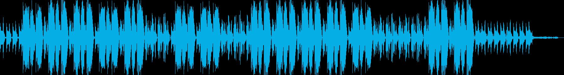 ミステリアスなHIPHOP×TRAPの再生済みの波形