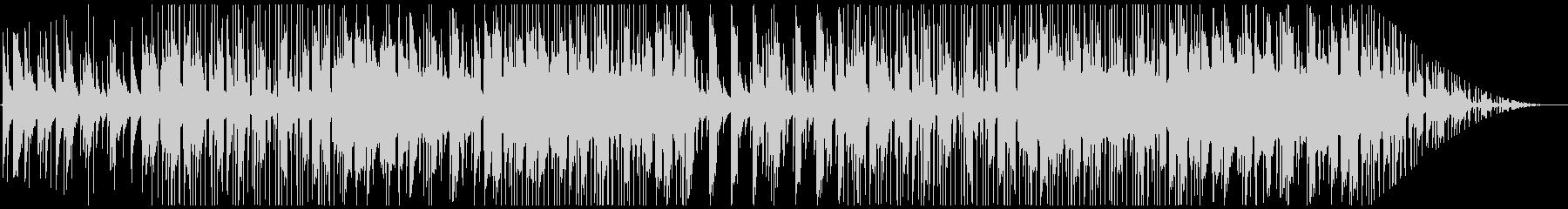 レトロなピアノとストリングスのチルホップの未再生の波形
