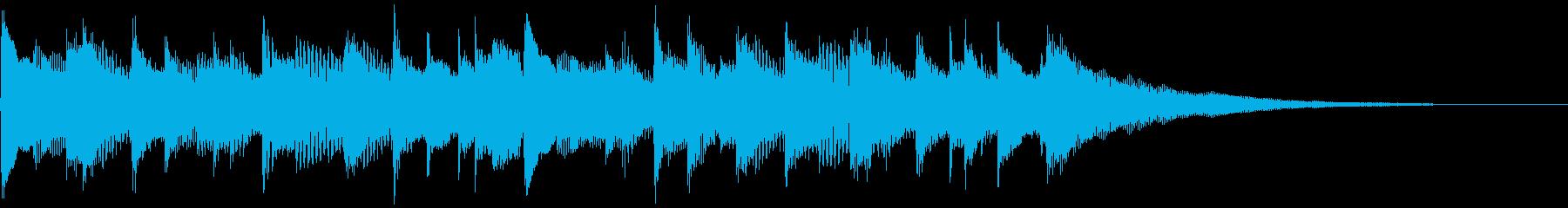アコギの穏やかで感動的なCM曲G/15秒の再生済みの波形
