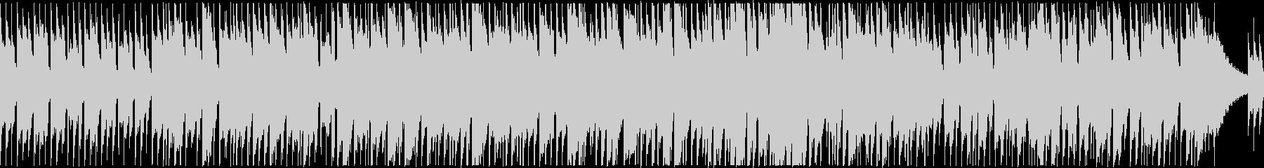 アコギ2本のクールで落ち着いたBGMの未再生の波形
