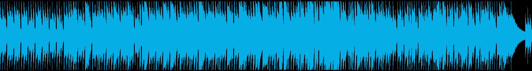 アコギ2本のクールで落ち着いたBGMの再生済みの波形